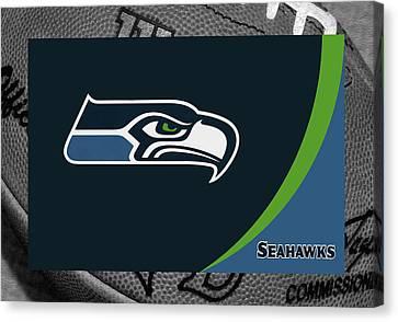 Seahawks Canvas Print - Seattle Seahawks by Joe Hamilton