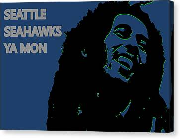 Seattle Seahawks Ya Mon Canvas Print by Joe Hamilton