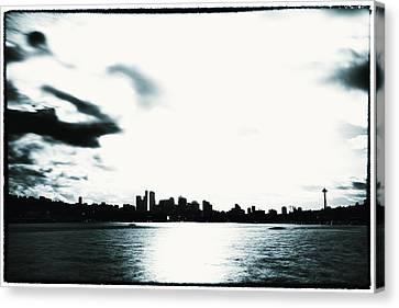 Puget Sound Canvas Print - Seattle Skyline Across Union Bay by Tanya Harrison