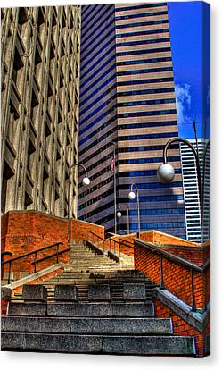 Seattle Skyscrapers IIi Canvas Print by David Patterson