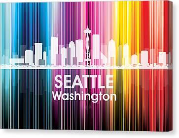 Seattle Wa 2 Canvas Print