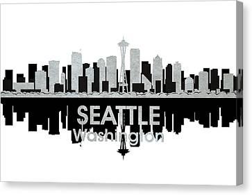 Seattle Wa 4 Canvas Print