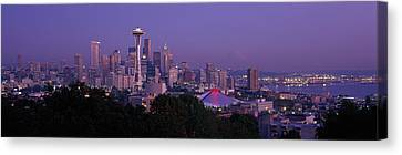 Seattle Wa Usa Canvas Print by Panoramic Images
