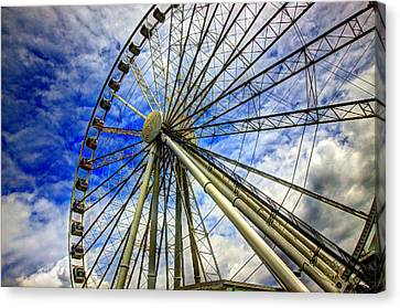 Seattle's Great Wheel Canvas Print