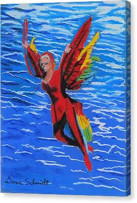 Seaworld Acrobat Canvas Print