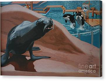 Seaworld Canvas Print