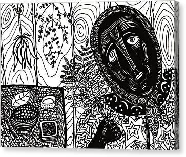 Sebastiana Canvas Print by Sarah Loft