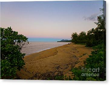Beach Canvas Print - Secluded Beach by Andrew Wood