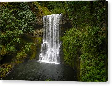 Secluded Falls Canvas Print