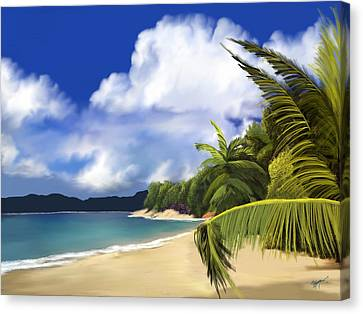 Secluded Hidaway Canvas Print