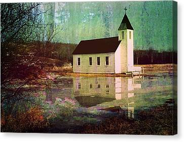 Secluded Sanctum  Canvas Print by Shirley Sirois