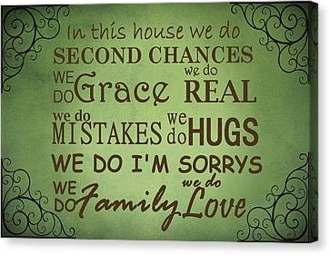 Second Chances In This House Canvas Print by Movie Poster Prints