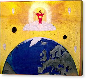 Second Coming Of Jesus Canvas Print