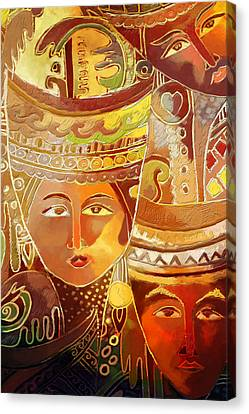 Dubai Gallery Canvas Print - Second Face by Corporate Art Task Force
