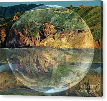 Second Nature Canvas Print by PainterArtist FIN