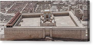 Second Temple Canvas Print by Sergey Simanovsky