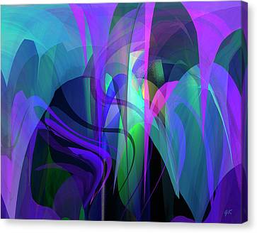 Modern Digital Art Digital Art Canvas Print - Secrecy by Gerlinde Keating - Galleria GK Keating Associates Inc