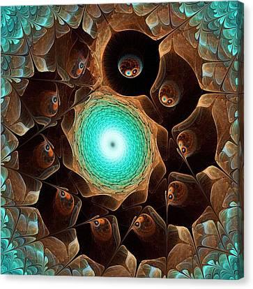Secret Colony Canvas Print by Anastasiya Malakhova