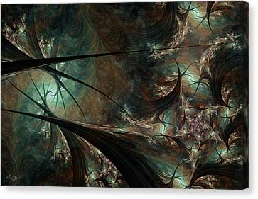 Secret Forest Canvas Print