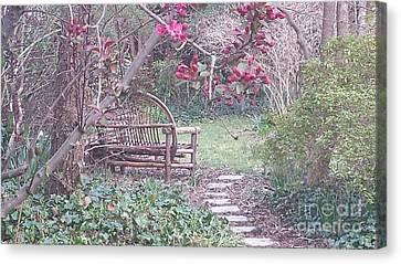 Secret Garden Canvas Print