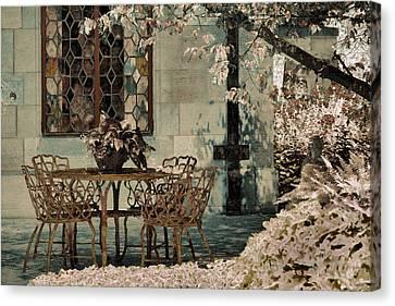Canvas Print featuring the photograph Secret Garden by Lauren Radke
