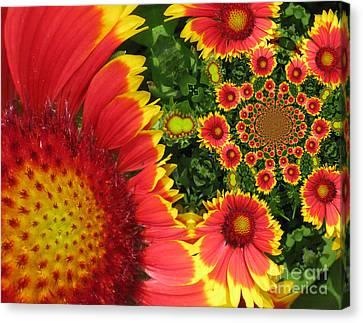 Secret Garden Canvas Print by Maria Watt