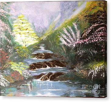 Secret Garden Canvas Print by Vanessa Palomino