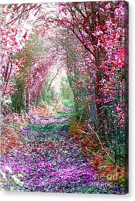 Canvas Print featuring the photograph Secret Garden by Vicki Spindler