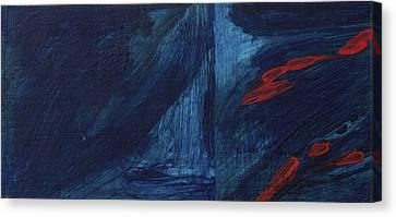 Secret Canvas Print by Hatin Josee