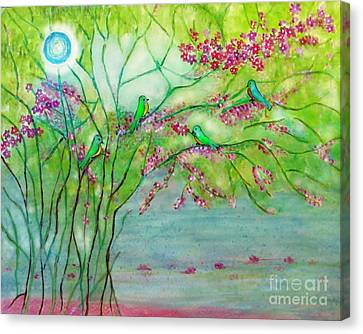 Secret Paradise Inner Bliss Canvas Print by Anjali Vaidya