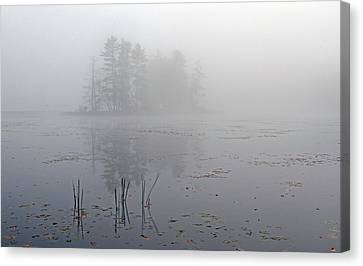 Western Ma Canvas Print - Secret Silence by Juergen Roth