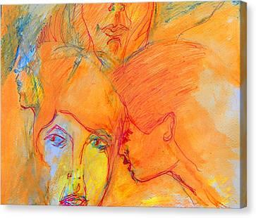 Secrets Canvas Print by Judith Redman