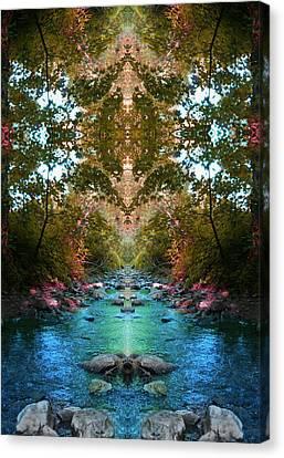 Secrets Of Nature Canvas Print by Tina Vrankar