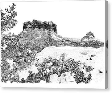 Sedona 1 Canvas Print