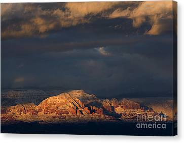 Sedona Arizona After The Storm Canvas Print by Ron Chilston