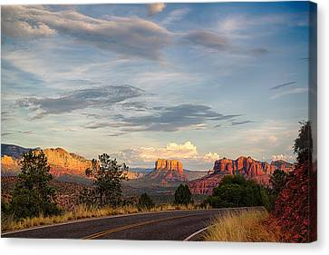 Sedona Arizona Allure Of The Red Rocks - American Desert Southwest Canvas Print