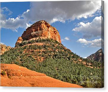 Sedona Arizona Mountain View Canvas Print by Gregory Dyer