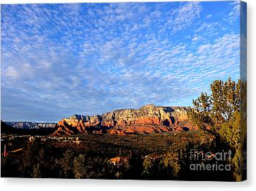 Sedona Landscape Canvas Print by Marlene Rose Besso