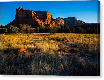 Sedona Light Canvas Print by Bill Cantey
