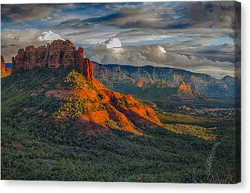 Sedona Magic Canvas Print by Shanna Gillette