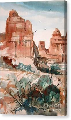 Sedona Canvas Print by Micheal Jones