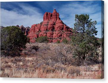 Sedona Red Rock Formations Canvas Print