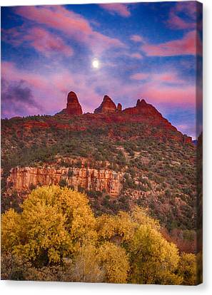 Sedona Sunset Canvas Print by Shanna Gillette