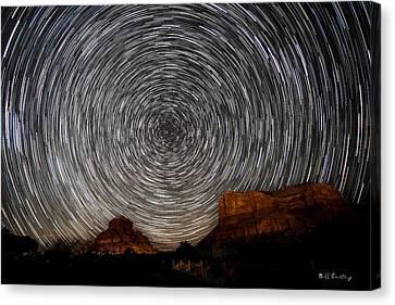 Flagstaff Canvas Print - Sedona Trails by Bill Cantey