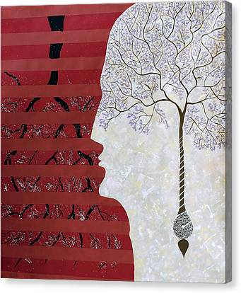Seed Of Thought Canvas Print