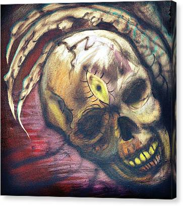 Seeing Is Believing Canvas Print by Ryno Worm  Tattoos