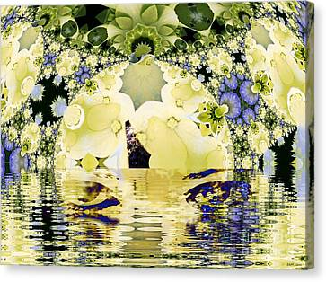 Seeing It Through Canvas Print by Elizabeth McTaggart