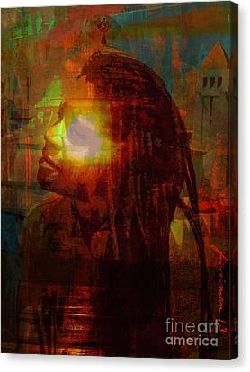 Seeing The Light Canvas Print by Fania Simon