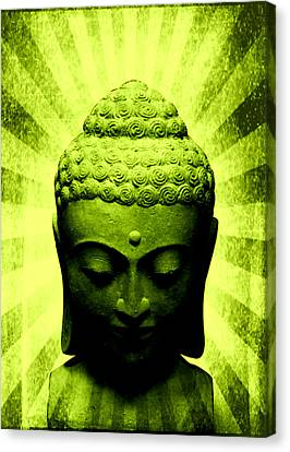 Michelle Canvas Print - Seek Within Buddha by Michelle Dallocchio
