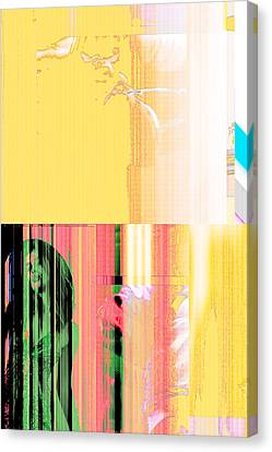 Seeking Encounter Number Five Digital Art By Maria Lankina Canvas Print by Maria  Lankina
